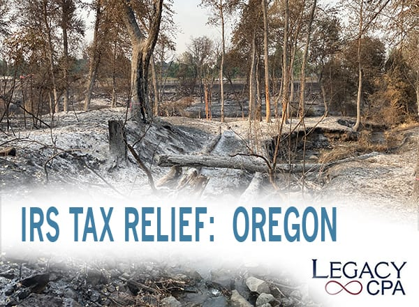 IRS TAX RELIEF – OREGON